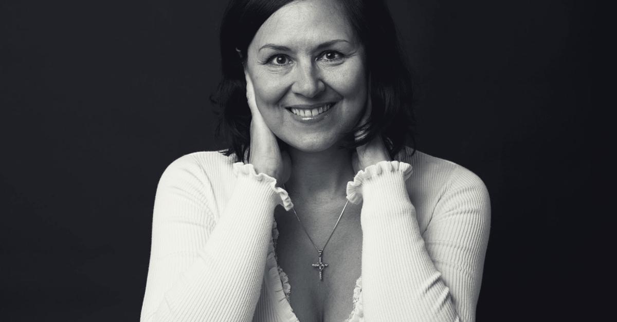 Foto: Lykkeeksperten Nathalie Dahl , ANTURI , lykkeeksperten workshop